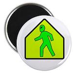 "Alien Crossing 2.25"" Magnet (100 pack)"