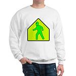 Alien Crossing Sweatshirt