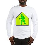 Alien Crossing Long Sleeve T-Shirt