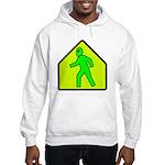 Alien Crossing Hooded Sweatshirt