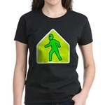 Alien Crossing Women's Dark T-Shirt
