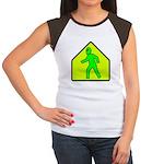 Alien Crossing Women's Cap Sleeve T-Shirt