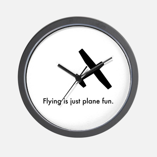 Plane Fun 1407044 Wall Clock