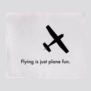 Plane Fun 1407044 Throw Blanket