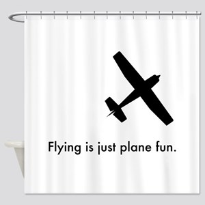 Plane Fun 1407044 Shower Curtain