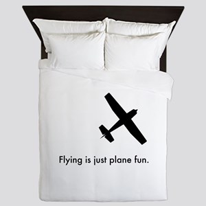Plane Fun 1407044 Queen Duvet
