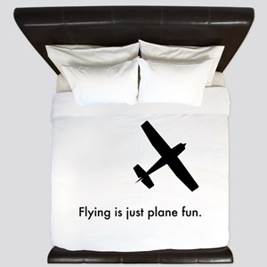 Plane Fun 1407044 King Duvet