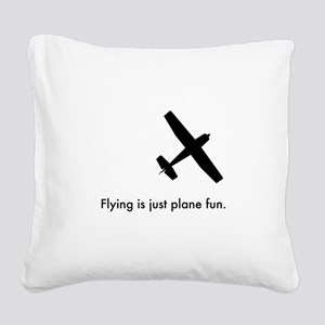 Plane Fun 1407044 Square Canvas Pillow