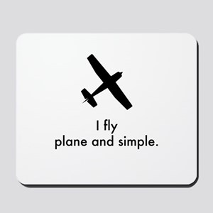 Plane and Simple 1407042 Mousepad