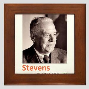 Wallace Stevens American Modernist Poe Framed Tile