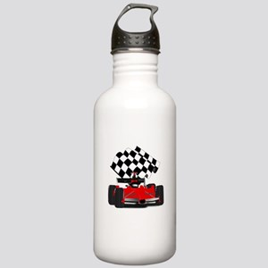 Red Race Car with Chec Stainless Water Bottle 1.0L