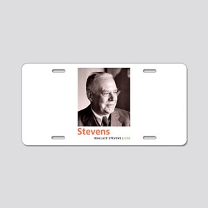 Wallace Stevens American Mo Aluminum License Plate