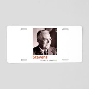 Wallace Stevens American Mo Aluminum License Plate