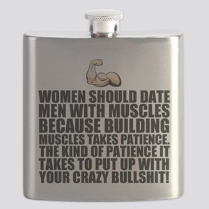 Women should date men with muscles Flask