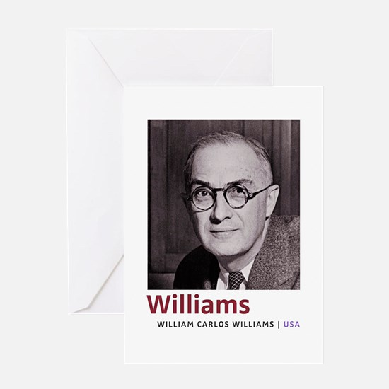 William Carlos Williams Latino-Amer Greeting Cards