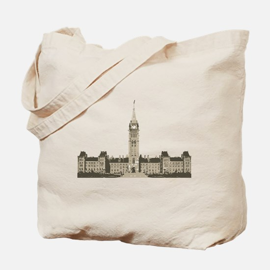 The Peace Tower Tote Bag