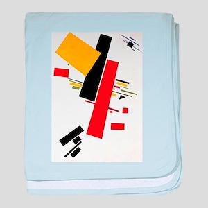 Kazemir Malevich Soviet Russian Artis baby blanket