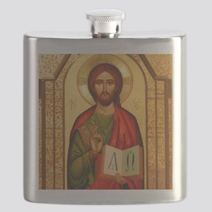 Christ The Teacher Flask