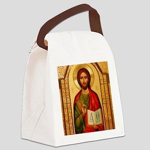 Christ The Teacher Canvas Lunch Bag