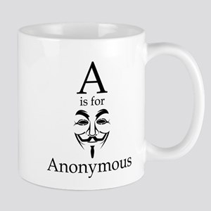 A is for Anonymous Mugs