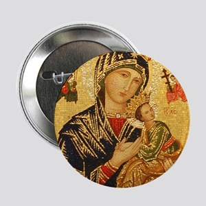"Our Lady of Perpetual Help 2.25"" Button"