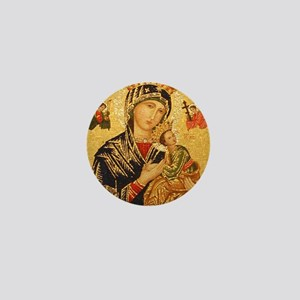 Our Lady of Perpetual Help Mini Button