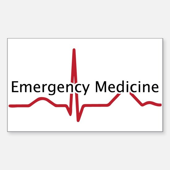 Emergency Medicine Decal