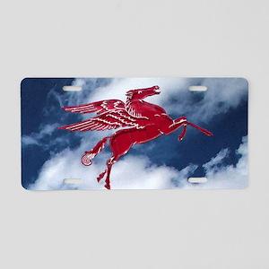 Free Pegasus Aluminum License Plate