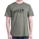 Superhero Evolution Dark T-Shirt