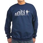 Superhero Evolution Sweatshirt (dark)