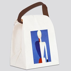 Malevich T-shirt geometric Abstra Canvas Lunch Bag