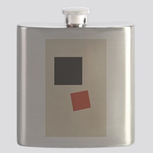 Malevich T-shirt geometric Abstract Art Pain Flask