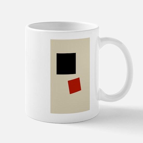 Malevich T-shirt geometric Abstract Art Paint Mugs