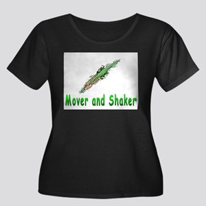 Mover and shaker. Women's Plus Size Scoop Neck Dar
