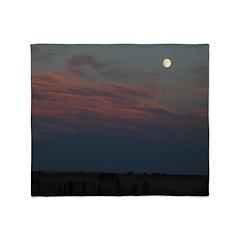 Prairie Moon Throw Blanket