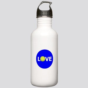 tennis love Water Bottle