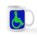 Handicapped Alien Mug