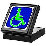 Handicapped Alien Keepsake Box
