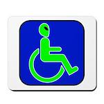 Handicapped Alien Mousepad