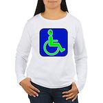 Handicapped Alien Women's Long Sleeve T-Shirt