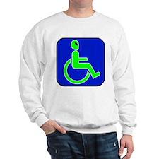 Handicapped Alien Sweatshirt
