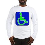 Handicapped Alien Long Sleeve T-Shirt