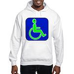 Handicapped Alien Hooded Sweatshirt