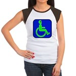 Handicapped Alien Women's Cap Sleeve T-Shirt