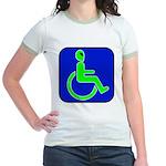 Handicapped Alien Jr. Ringer T-Shirt