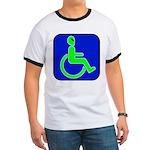 Handicapped Alien Ringer T