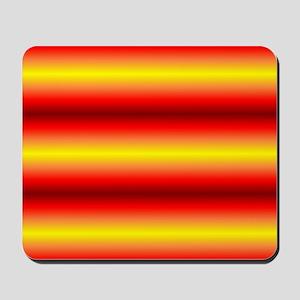 Kooky Orange Red Designer for Kelly Mousepad