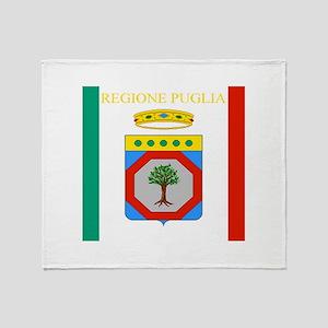 Regione Puglia Throw Blanket