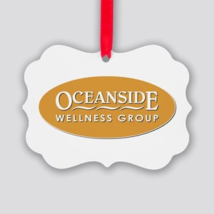 OCEANSIDE WELLNESS Picture Ornament