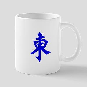 Mahjong Tile - East Wind Mugs